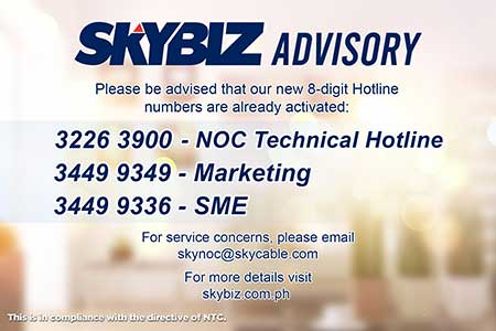 Skybiz Technical Issues Brought About By The Ntc Landline Migration